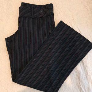 Torrid Red Pinstripe Trouser Pants (size 12)